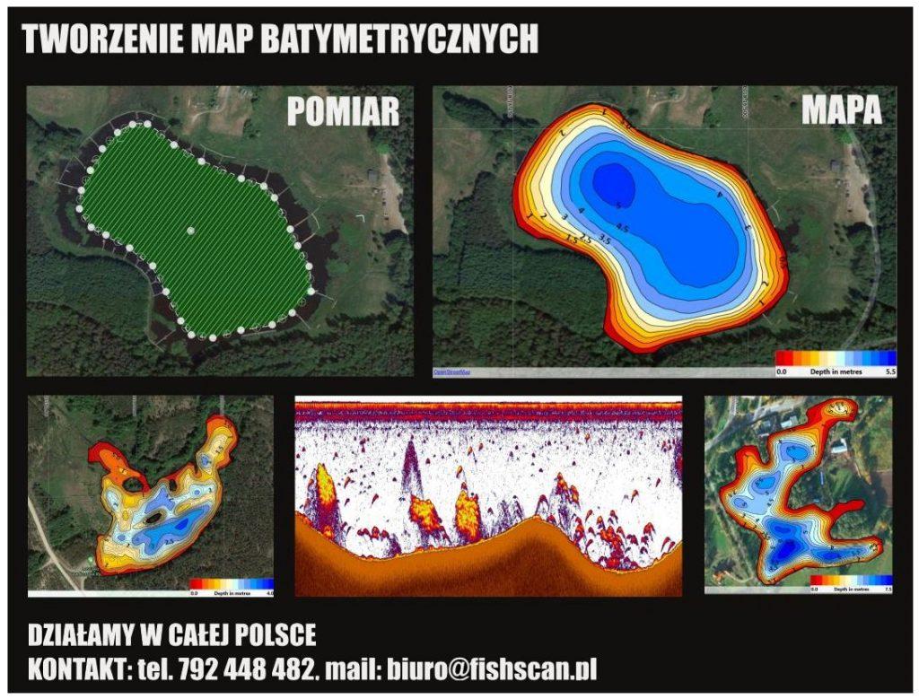 FishScan - Mapa batymetryczna